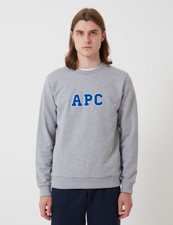 A.P.C. Malcolm Sweatshirt - Grey Heather
