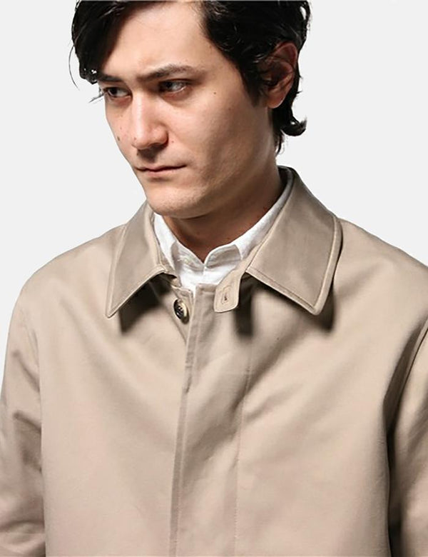 A.P.C. Mac Ville Trench Coat - Beige - Article