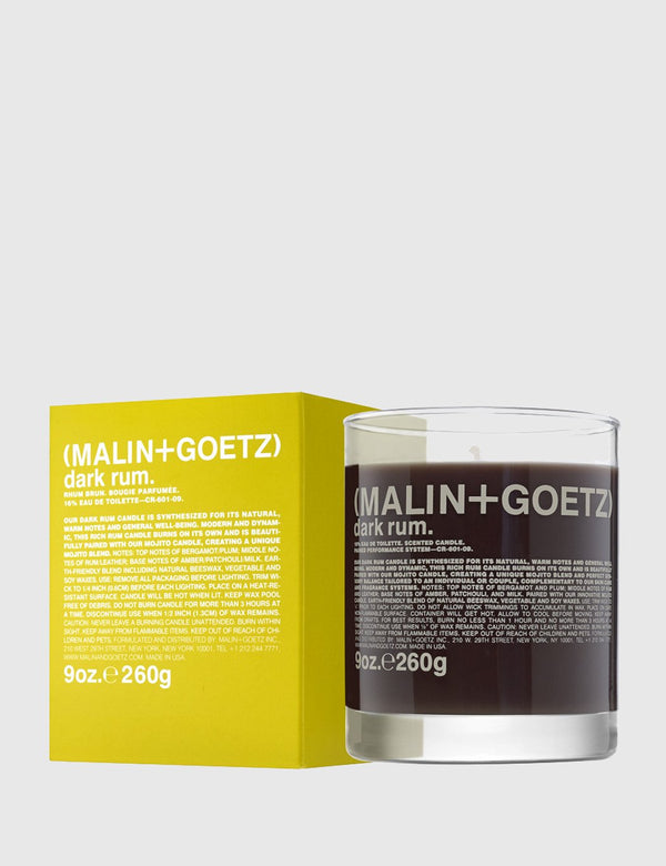 Malin+Goetz Candle - Dark Rum