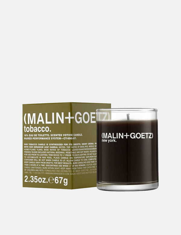 Malin+Goetz Candle - Tobacco
