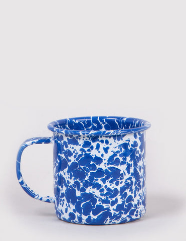 Crow & Canyon Enamel Crow & Canyon Mug - Blue Marble - Article