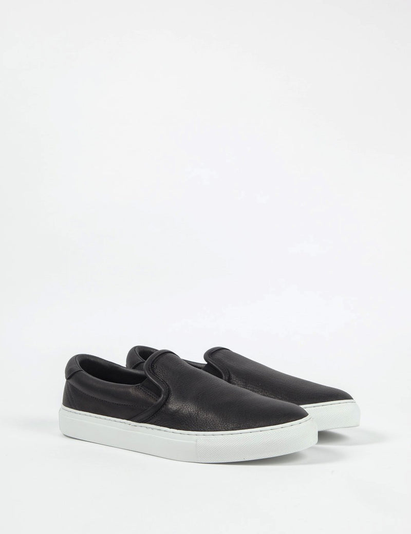 Diemme Garda Slip-On (Leather) - Black