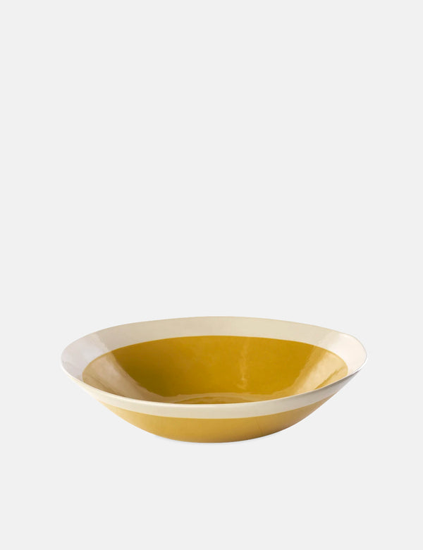 Nkuku Datia Serving Bowl (Small) - Mustard