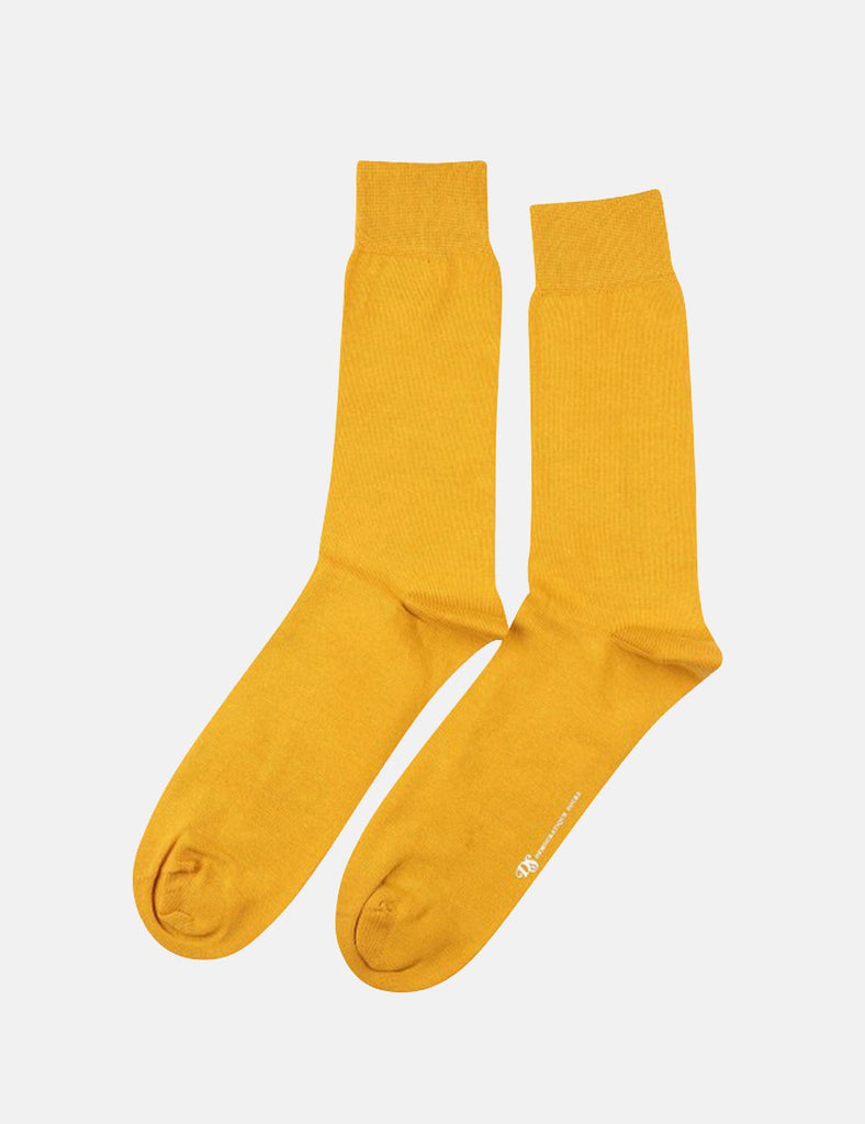 Democratique Original Solid Socks - Curry Masala - Article
