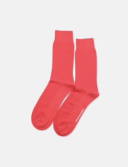 Democratique Originals Champagne Pique Socks - Spring Red