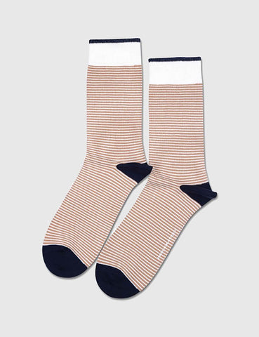 Democratique Mini Stripes Socks - Dirty Camel - Article