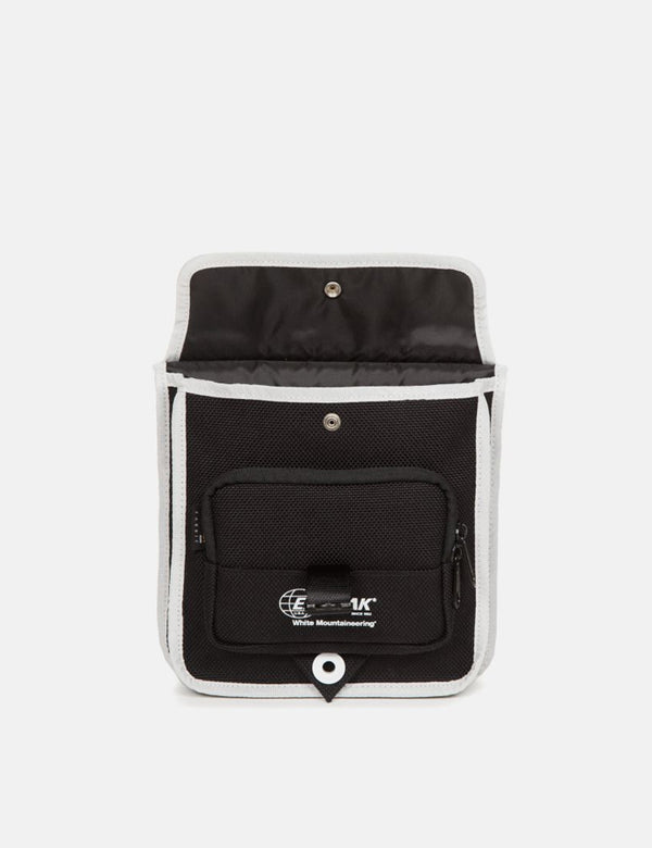 Eastpak x White Mountaineering Musette Hip Bag - Dark Black