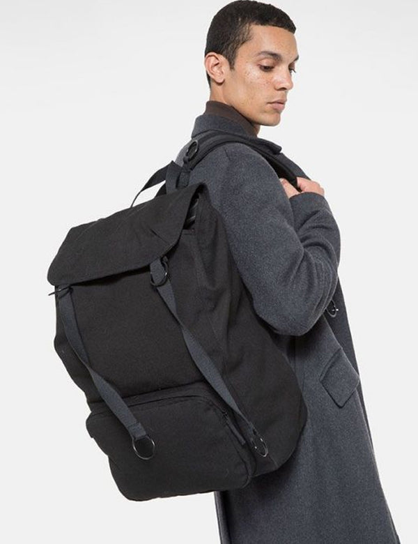 Eastpak x Raf Simons Topload Loop Backpack - Black
