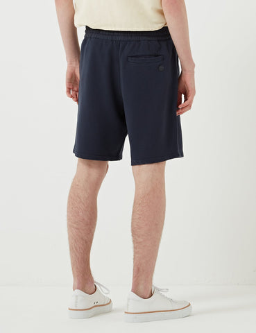 Folk Combination Sweat Shorts - Washed Navy