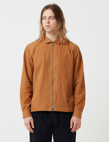 Folk Signal Jacket - Caramel Brown