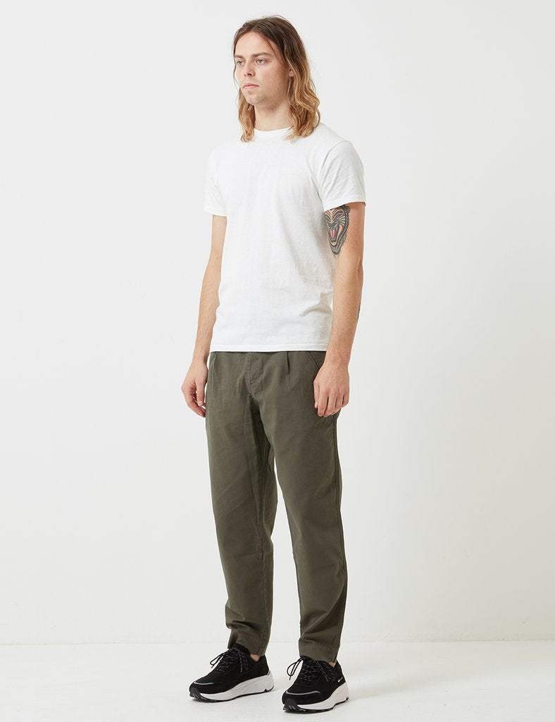 Folk The Assembly Trousers - Deep Green