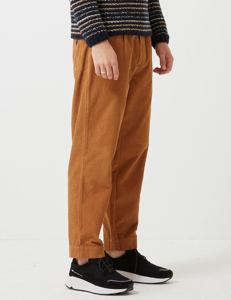 Folk Signal Trousers - Caramel Brown