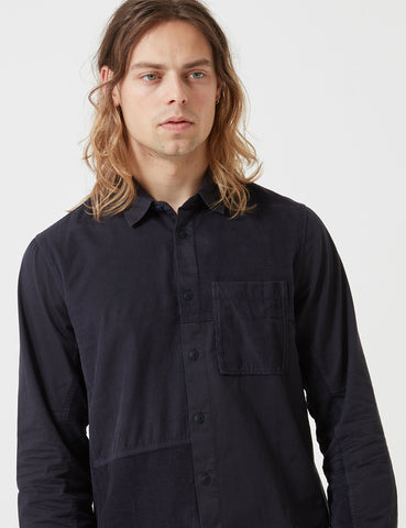 Folk Fraction Shirt - Charcoal Grey