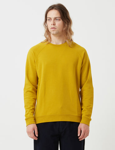 Folk Rivet Sweatshirt - Sulphur Yellow