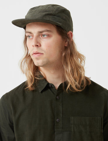 Folk Fraction Shirt - Deep Green