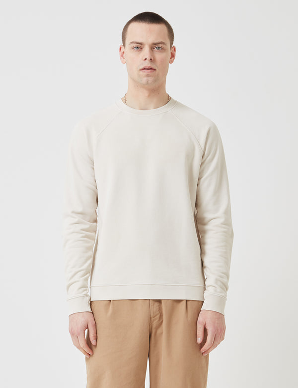 Folk Rivet Sweatshirt - Stone