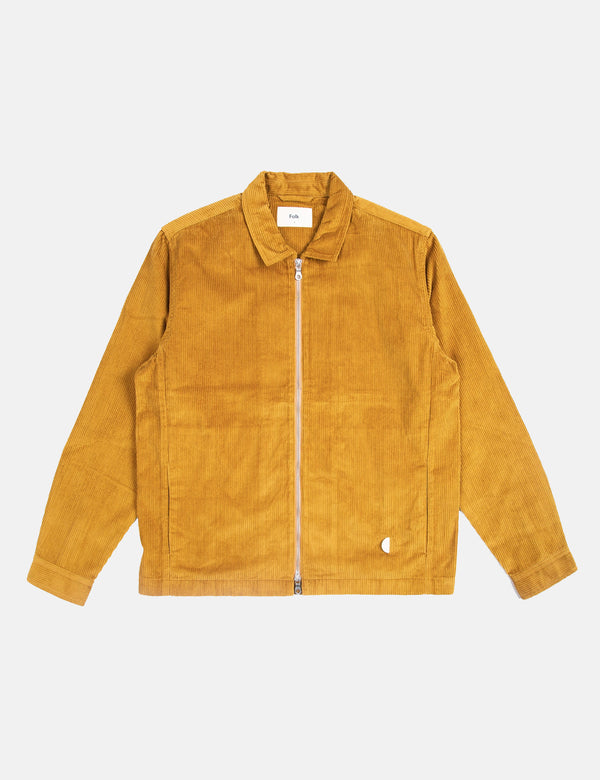 Folk Signal Jacket - Golden Yellow