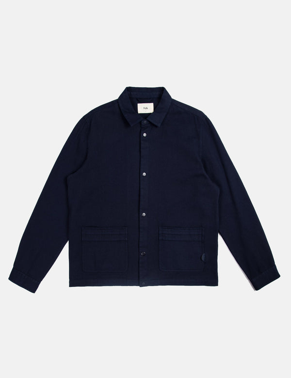 Folk Horizon Jacket - Navy