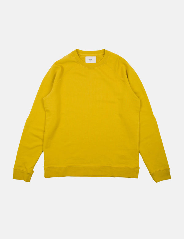 Folk Rivet Sweatshirt - Golden Yellow