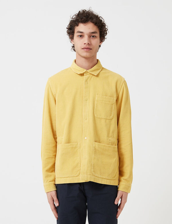 Folk Assembly Jacket (Corduroy) - Light Gold