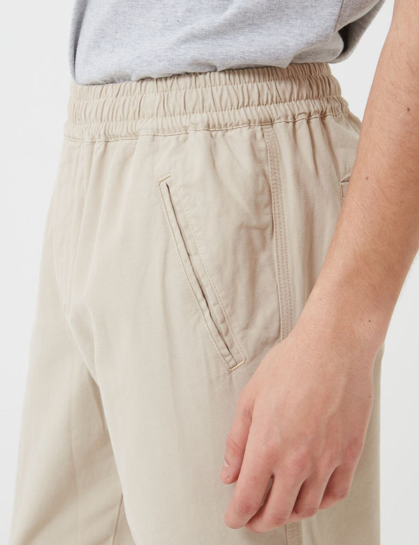 Folk Drawcord Assembly Trousers - Stone