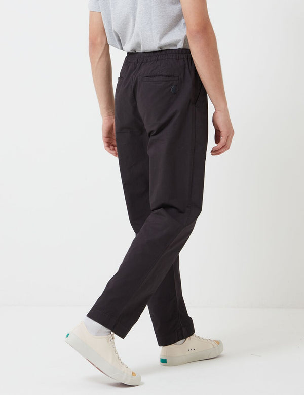Folk Loom Pants (Relaxed) - Soft Black