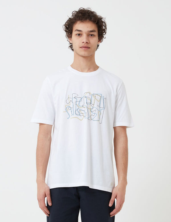 Folk Knot T-Shirt - White