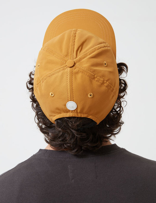 Folk Six Panel Cap - Mustard