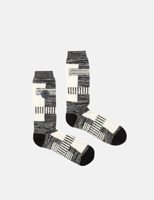 Folk Alber Socks - Black