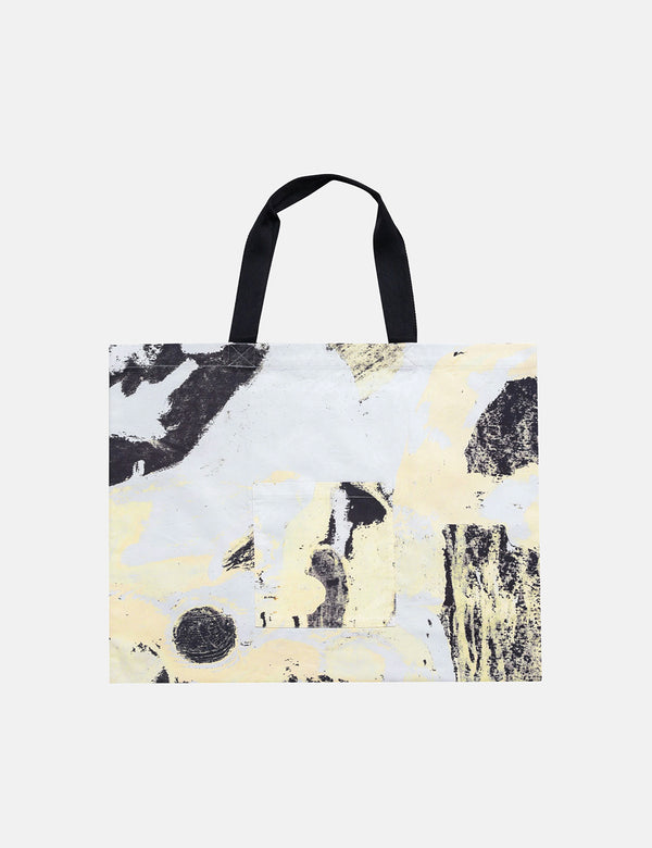 Folk x Alfie Kungu Tote Bag (Flare Print) - Light Gold