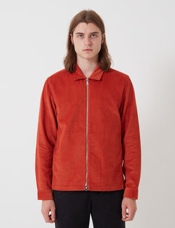Folk Signal Jacket - Brick Red