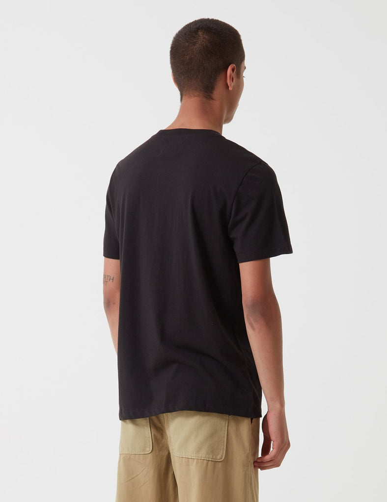 Folk Quota T-Shirt - Black Sand