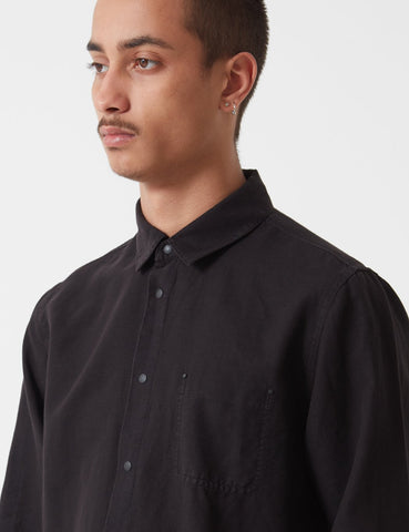 Folk Pop Stud Shirt - Black