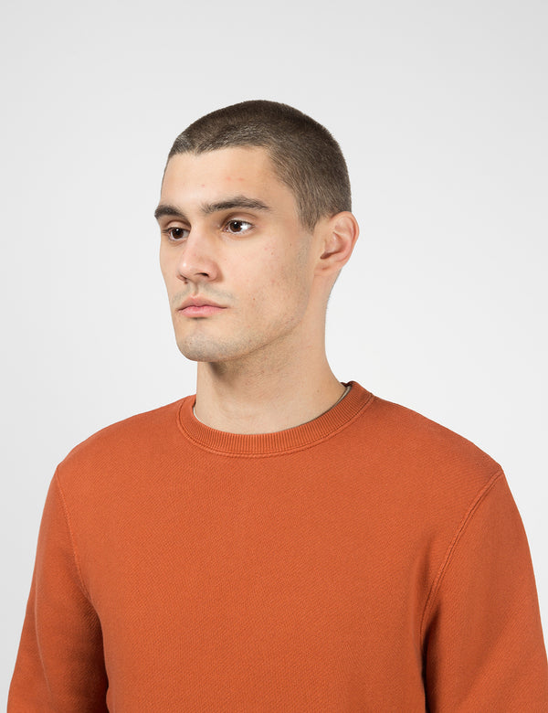 Folk Everyday Sweatshirt - Cinnamon