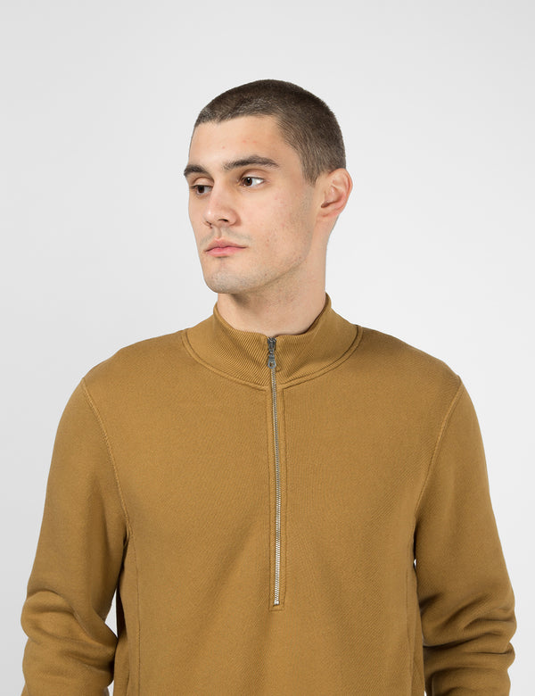 Folk Everyday Funnel Sweatshirt - Dark Fawn