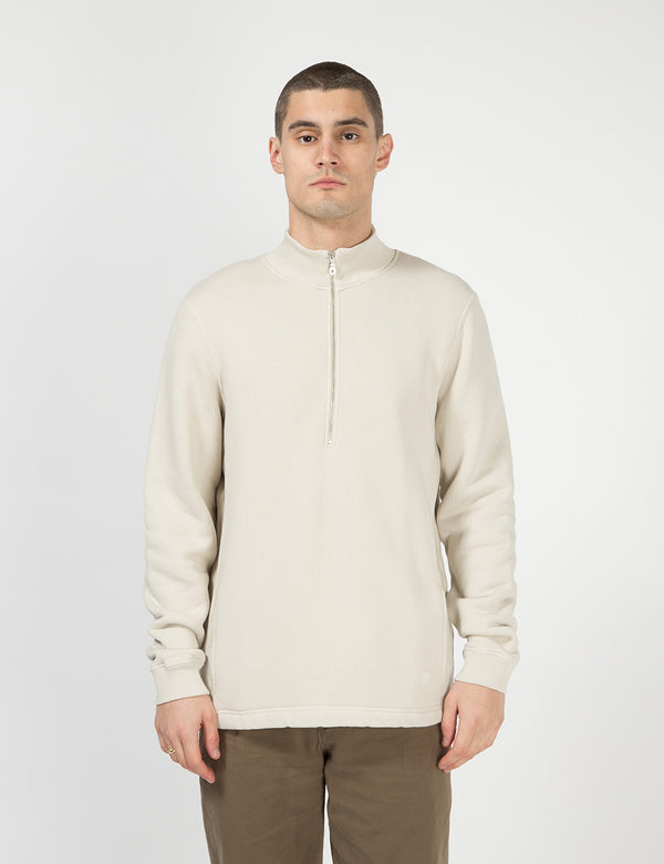 Folk Everyday Funnel Sweatshirt - Stone