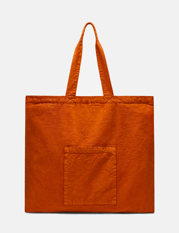 Folk Tote Bag - Cinnamon