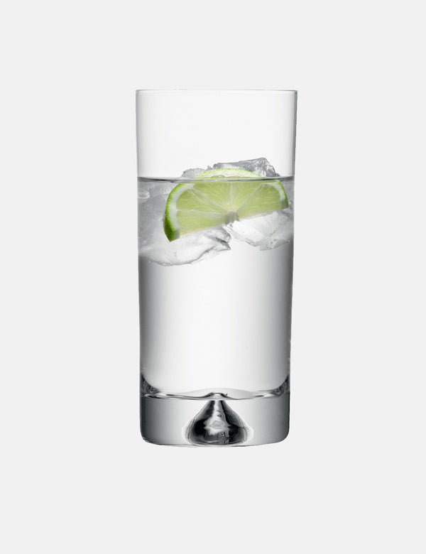LSA International Pyramid Highball Tumbler (375ml) - Clear