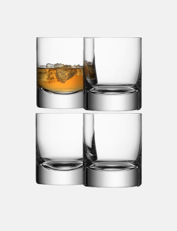 LSA International Bar Tumbler (Set of 4, 250ml) - Clear