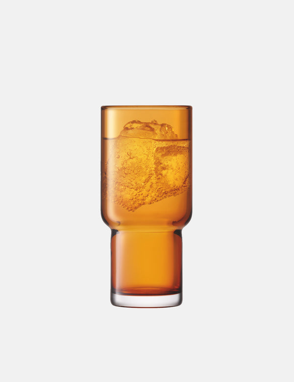 LSA International Utility Highball Tumbler (Set of 2, 390ml) - Amber