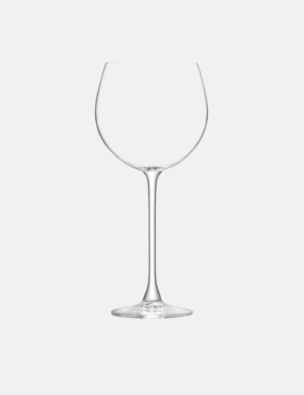 LSA International Balloon Goblet Glass (Set of 8, 525ml) - Clear