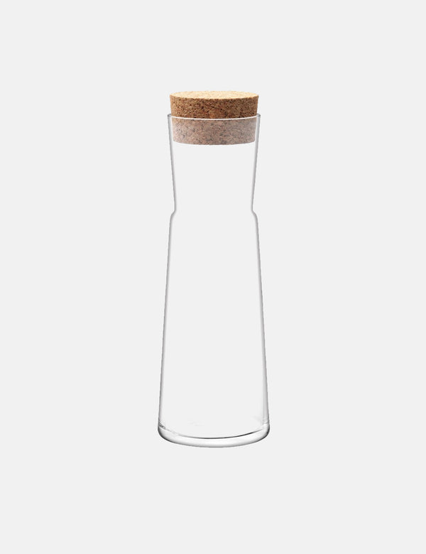 LSA International Gio Carafe & Cork Stopper - Clear