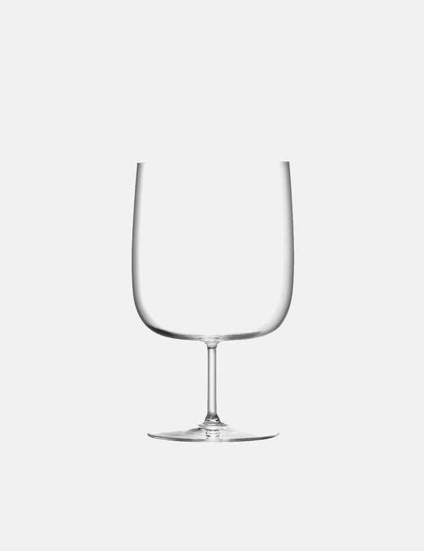 LSA International Borough Craft Beer Glass (Set of 4, 625ml) - Clear