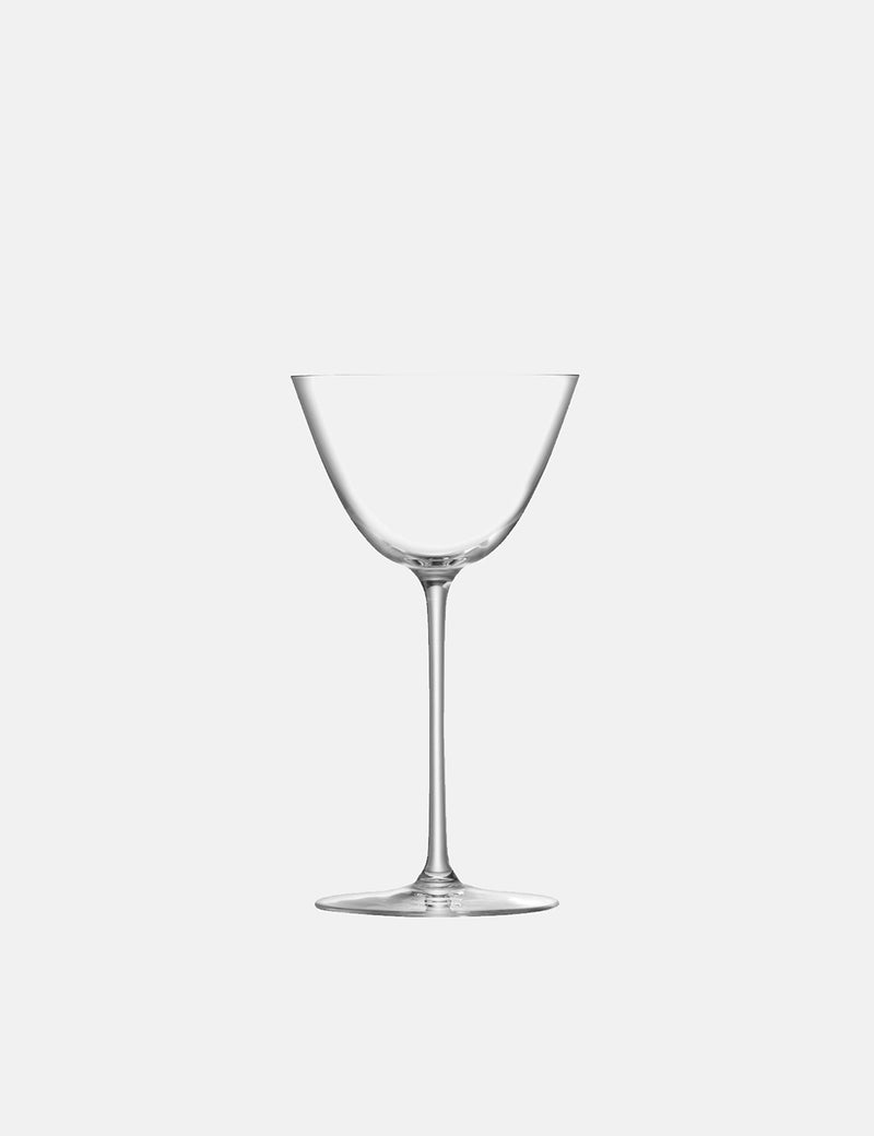 LSA International Borough Martini Glass (Set of 4, 195ml) - Clear