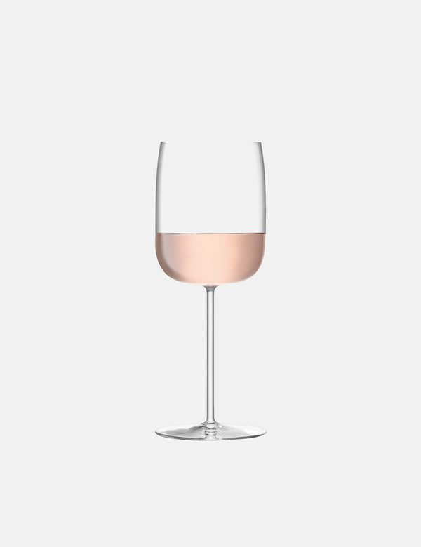 LSA International Borough Wine Glass (Set of 4, 380ml) - Clear