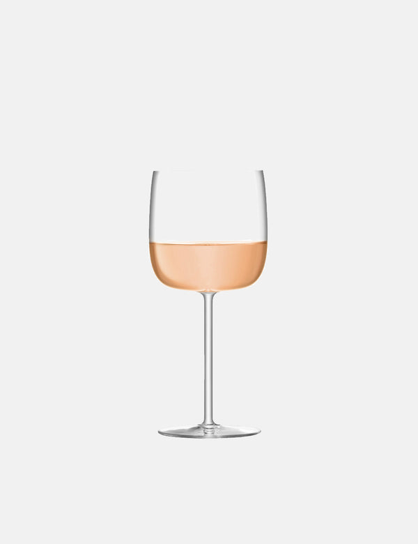 LSA International Borough Wine Glass (Set of 4, 450ml) - Clear