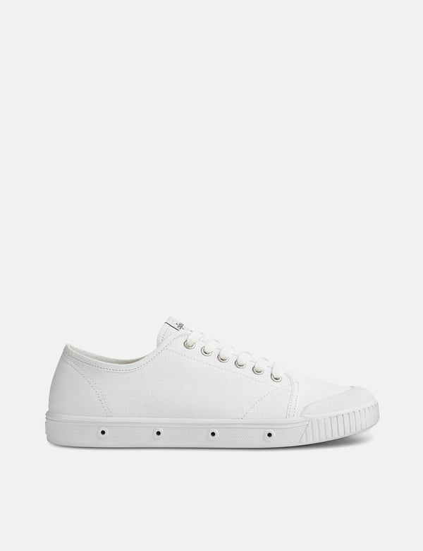 Spring Court G2 Low Trainers (Canvas) - White