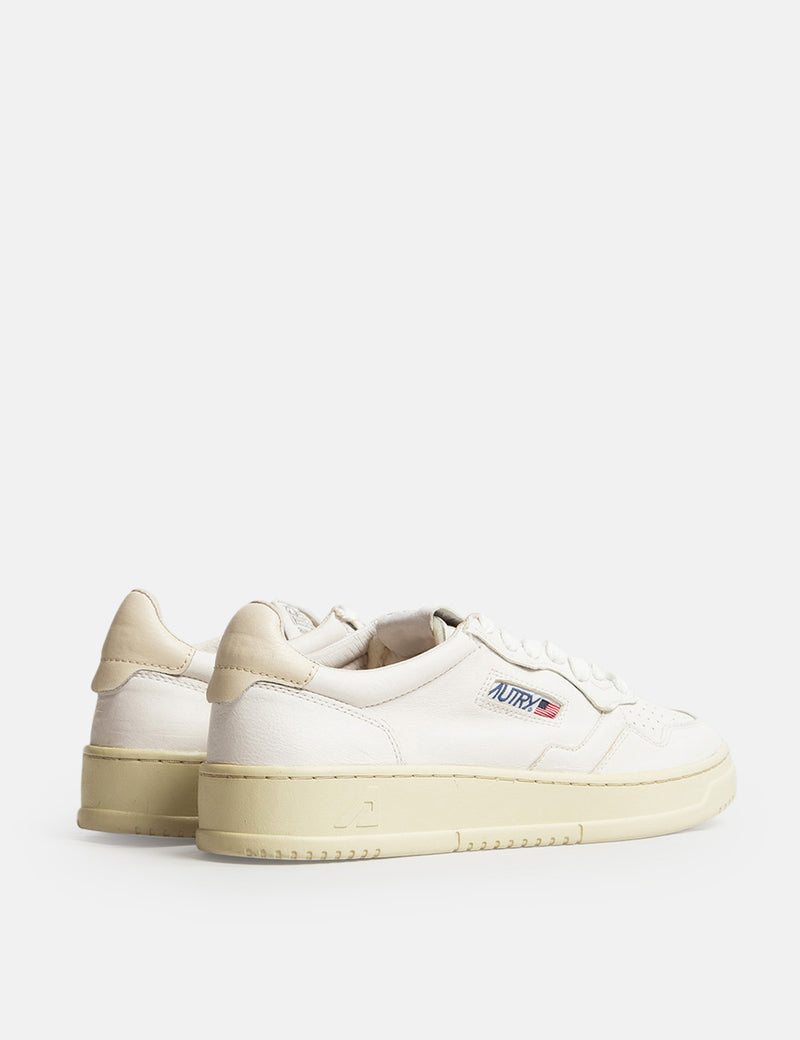 Autry Medalist GG04 Trainers (Goat Leather) - White