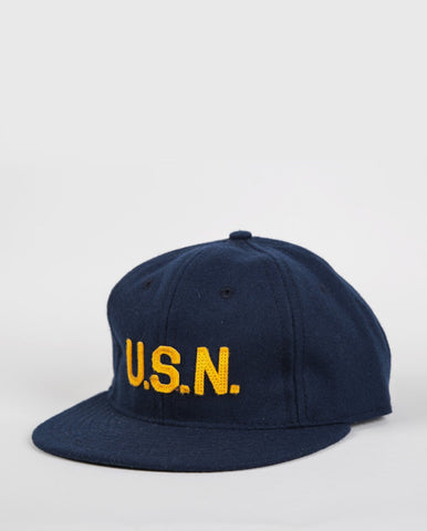 Ebbets Field Flannels Great Lakes 1918 Cap - Navy