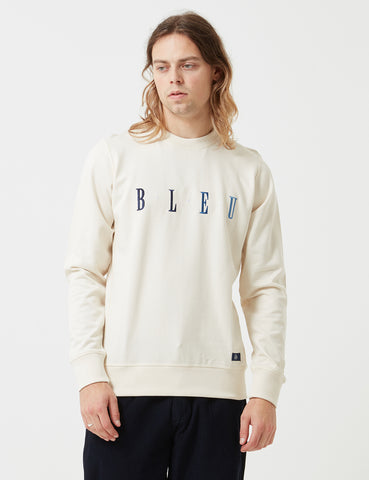 Bleu De Paname 'Bleu' Embroidery Sweat - Ecru - Article